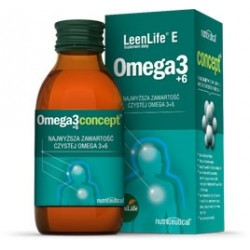 LeenLife E Omega 3 + 6 120ml