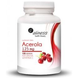 Acerola 100% 125mg naturalna witamina C