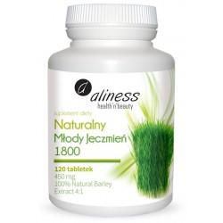 Naturalny Młody Zielony Jęczmień 1800 tabletki