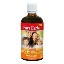 Para Herbs Plus życie bez pasożytów 100ml