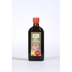 Olej z pestek dyni 250 ml tłoczony na zimno, nieoczyszczony