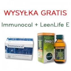 Na odporność, oczyszczanie organizmu z toksyn, przeciwdziałanie chorobom cywilizacyjnym - zestaw Immunocal + Omega 3 i 6