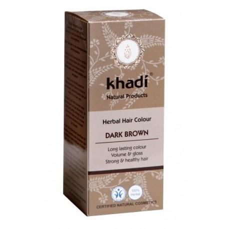 Khadi henna kolor ciemny brąz