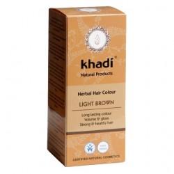 Henna do włosów kolor jasny brąz