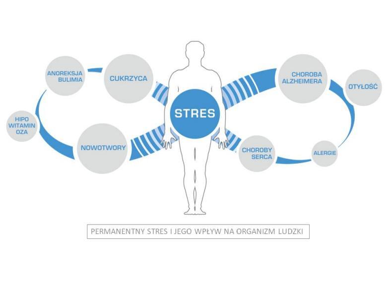 Ovobiovita Initium wpływ stresu i choroby
