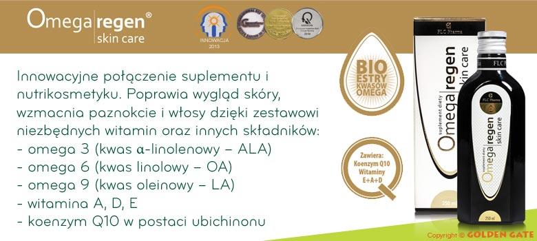 Omegaregen skin care bioestry kwasów omega 3 6 9