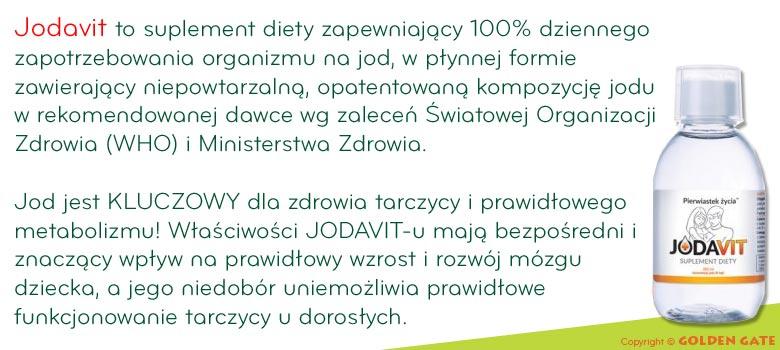 Jodavit - suplement diety z jodem