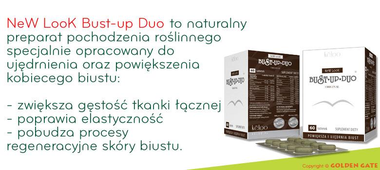 tabletki na powiększenie biustu New Look Bust-up Duo