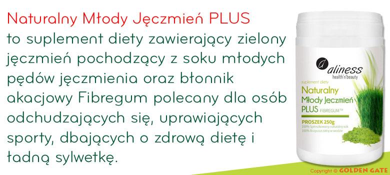 Naturalny Młody Jęczmień PLUS zielny jęczmień i fibregum