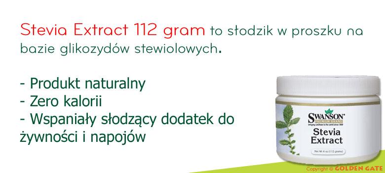 Słodzik w proszku Stevia Ekstrakt