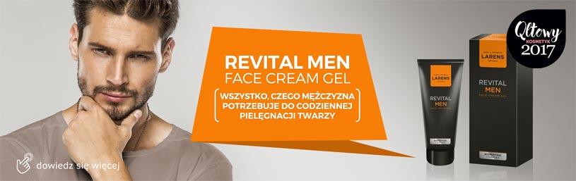 Krem dla mężczyzn Larens Revital Men Face Cream Gel After Shave po goleniu