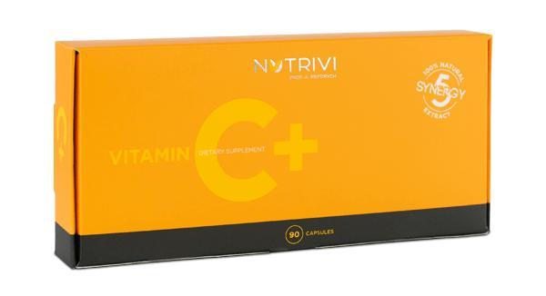 Vitamin C + 90 kapsułek witaminy C, krzemu, flawonoidów cytrusowych i hesperydyny
