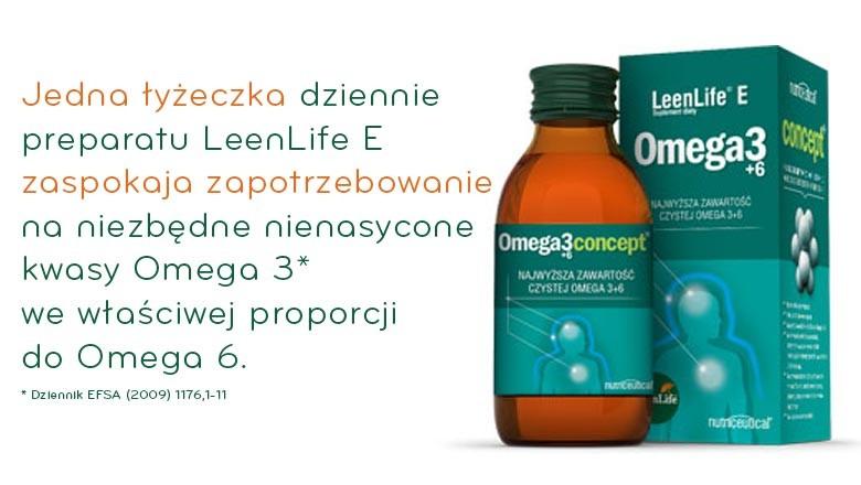 Leenlife E Omega 3 i 6 estry z lnu