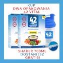 Zestaw Roślinna Dieta Niskokaloryczna 2 x 42 Vital