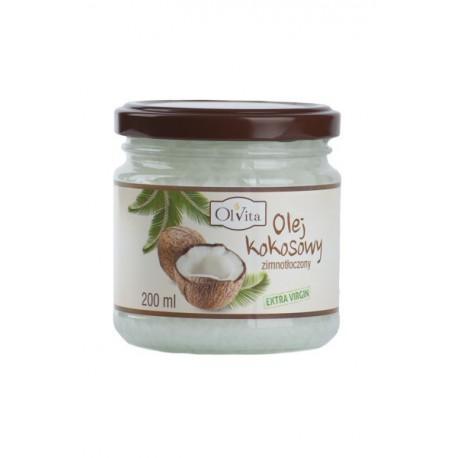Olej kokosowy tłoczony na zimno 200ml