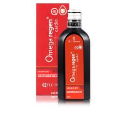 Omegaregen® cardio 250ml Kwasy Omega 3+6 Koenzym Q10 Estry Etylowe z Lnu