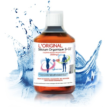 Oryginalny Szwajcarski Krzem Organiczny Silicium Organique l'Original Si -G5TM 2500 mg