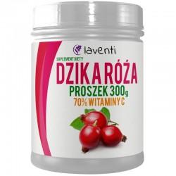 Naturalna Witamina C Ekstrakt 70% z Dzikiej Róży w Proszku 300g