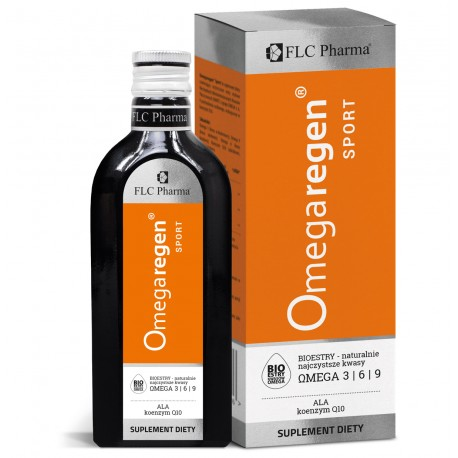 Omegaregen® Sport 250ml Omega 3 Koenzym Q10