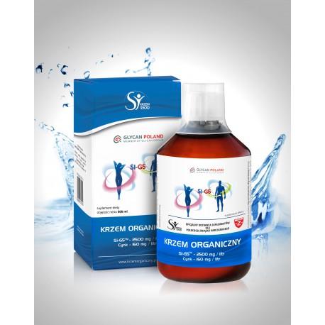 Krzem Organiczny Si -G5 2500 mg 0,5l