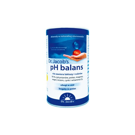 Proszek Zasadowy pH Balans Dr. Jacob's 300g