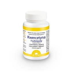 Kwercetyna Fosfolipidy z bromelainą i papiną oraz cynkiem i selenem