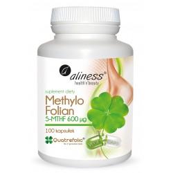 Methylo Folian 5-mthf Quatrefolic® 600 μg x 100 caps VEGE
