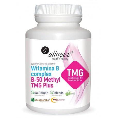 Witamina B Complex B-50 Methyl TMG Plus kompleks witamin z grupy B