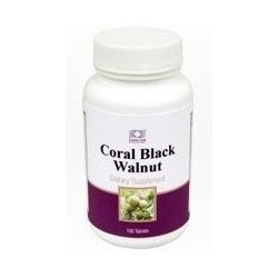 Coral Black Walnut Leaves