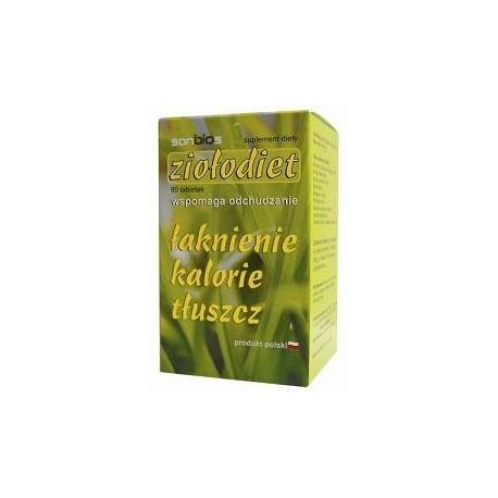 tabletki odchudzające - Ziołodiet - 90szt.