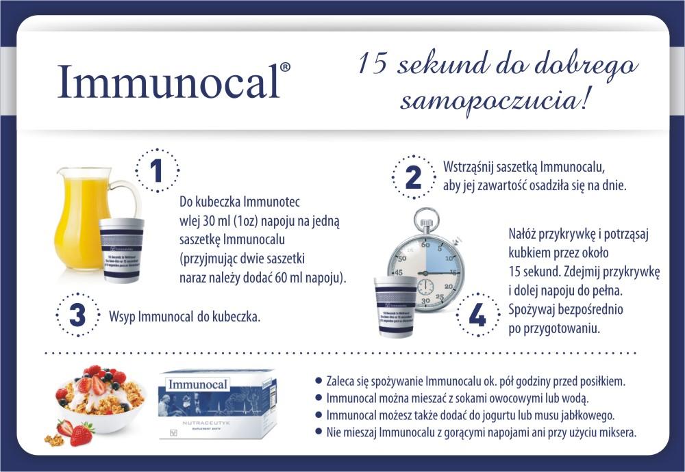 Immunocal stosowanie