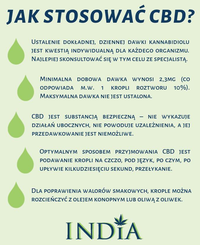 olej konopny bio dawkowanie