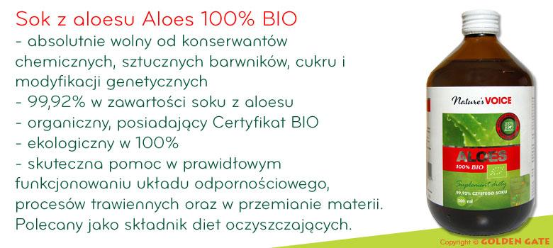 sok z aloesu Aloes 100% BIO