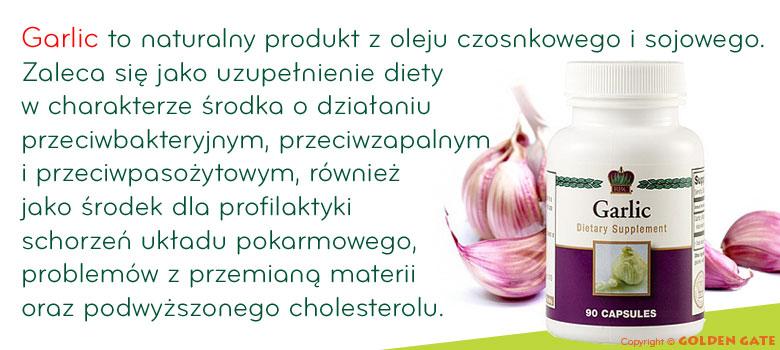czosnek garlic przeziębienia naturalny antybiotyk