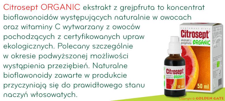 Citrosept Organic ekstrakt z grejpfruta