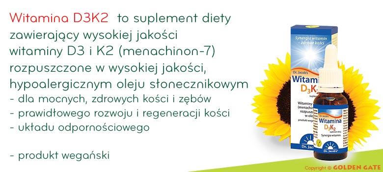 Witamina D3K2 MK7 Dr Jacobs