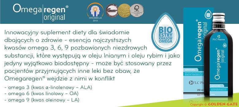 Omegaregen Original estry kwasów omega 3 i 6 flc pharma