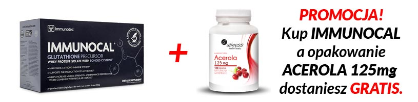 Immunocal Acerola promocja