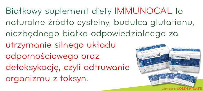 Immunocal 30 saszetek - Glutation to silny układ odpornościowy, oczyszczanie organizmu z toksyn, glutation