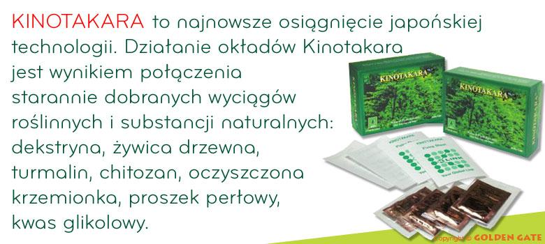 plastry Kinotakara oczyszczanie organizmu z toksyn