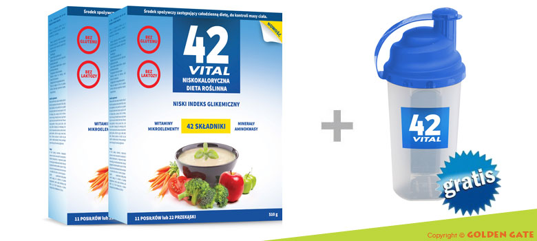 Dieta Niskokaloryczna na odchudzanie 42 Vital dla wegetarian dla diabetyków