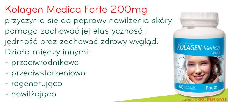 Kolagen Medica Forte skóra włosy paznokcie
