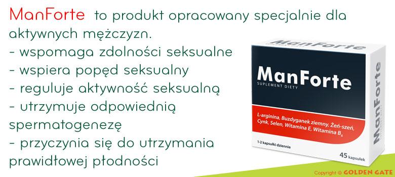 tabletki na potencje ManForte