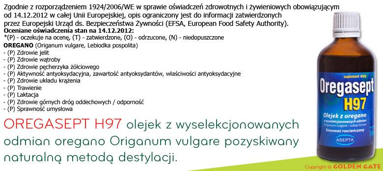 Oregasept H97 olejek z oregano