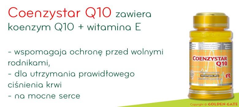 Koenzym Q10 + witamina E