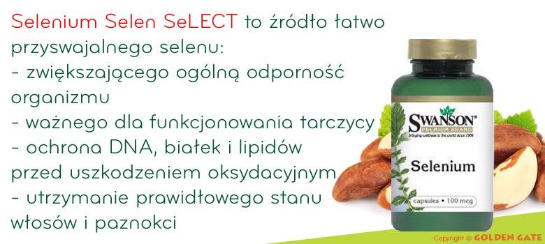 Selen selenium SeLECT hormon t3 detoksykacja