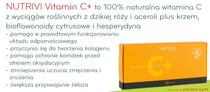 Naturalna Witamina C Nutrivi Vitamin C+