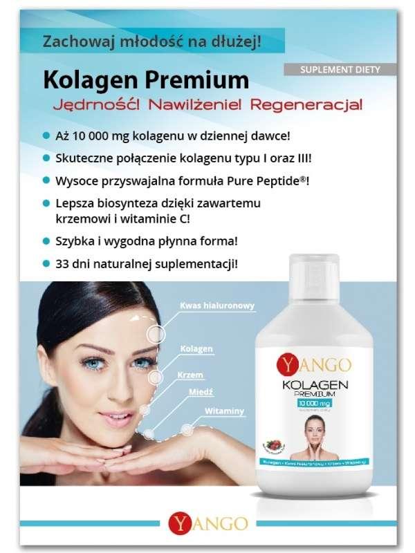 Premium Kolagen do picia na włosy, skórę